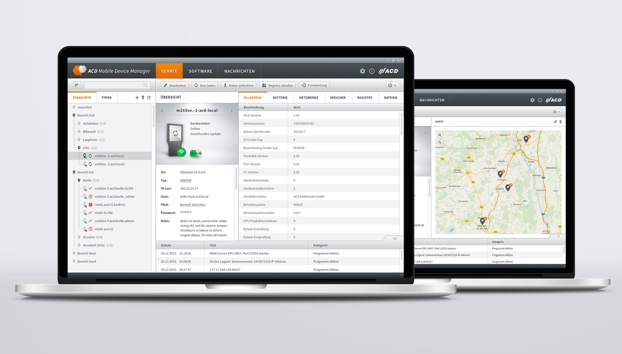 ACD Mobile Device Manager Pressemeldung