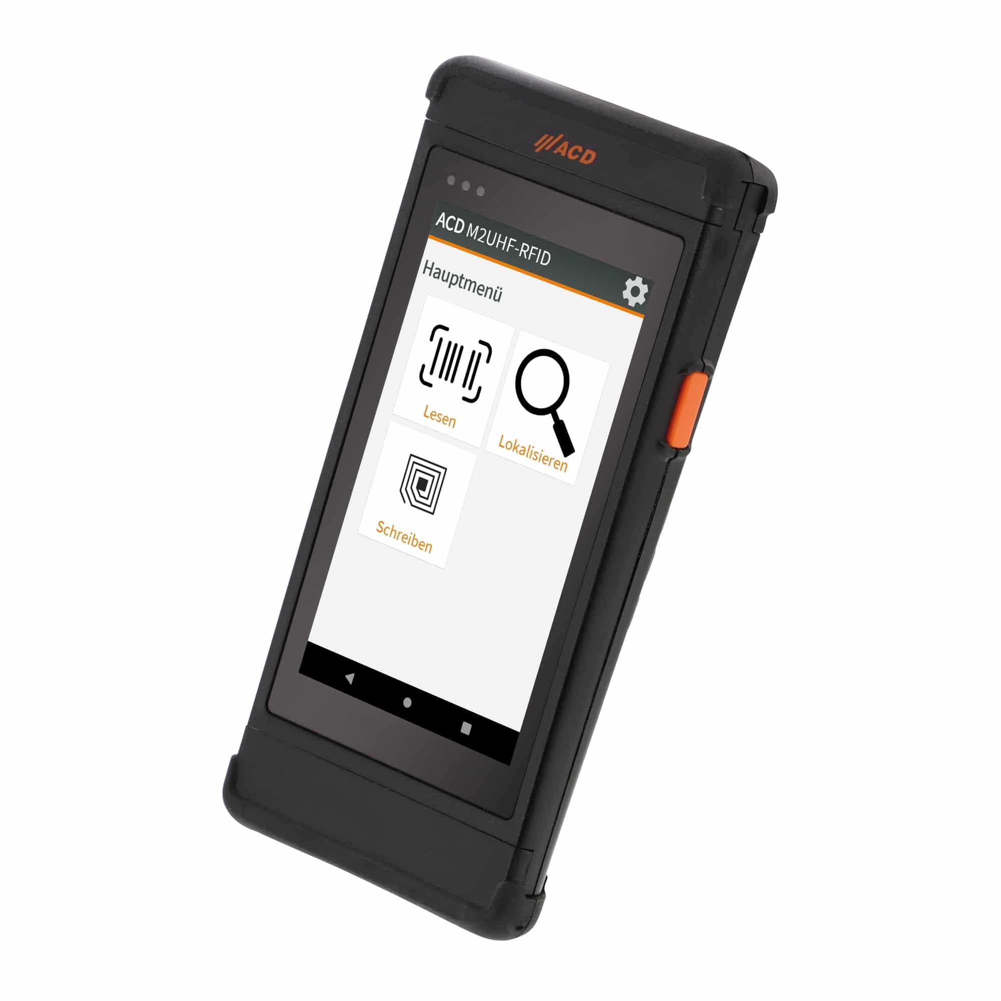 Mobiler Handheld Computer M2SmartSE mit integriertem HF-RFID