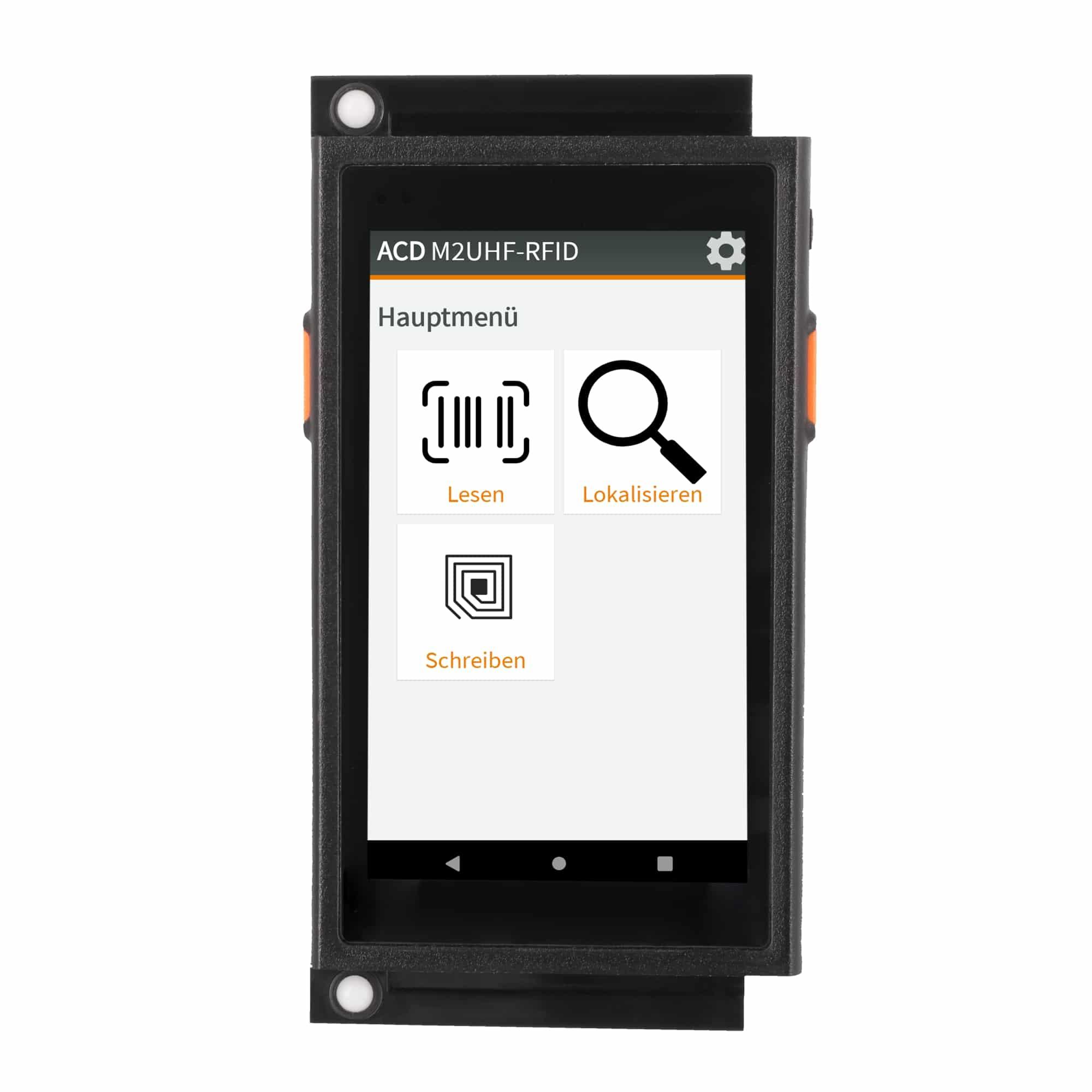 Mobiler Handheld Computer M2SmartSE mit RFID + Blindkappen