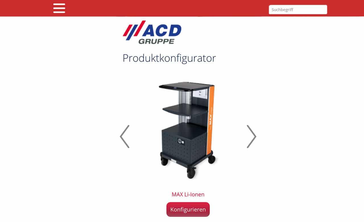 ACD Online Konfigurator