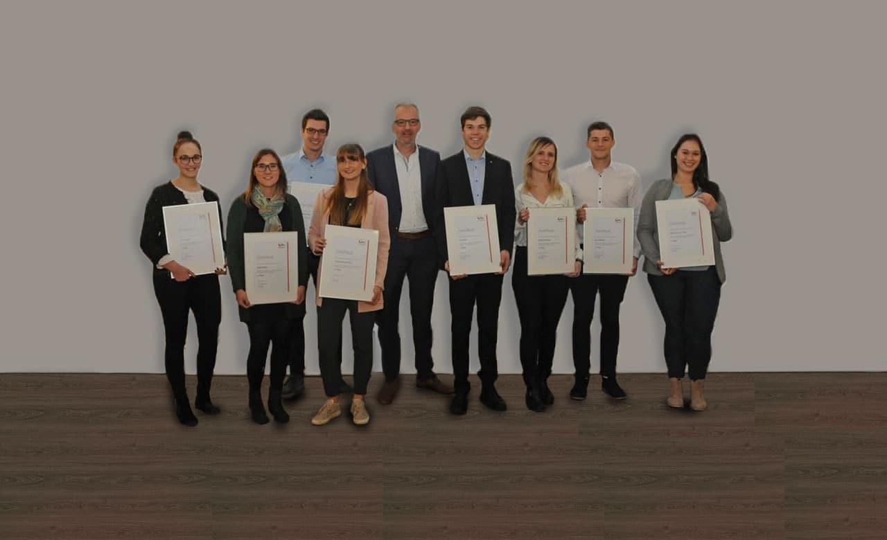 Auszeichnung Absolventen Laupheim