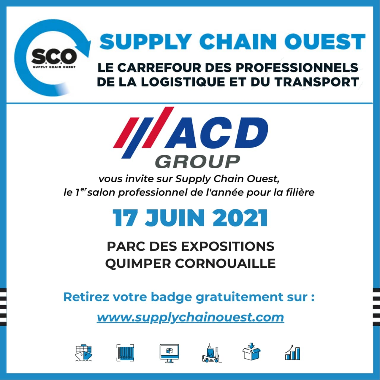 Supply Chain Ouest Banniere Sponsor ACD