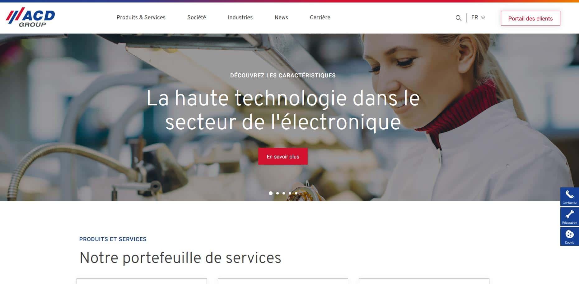 ACD lance son nouveau site WEB