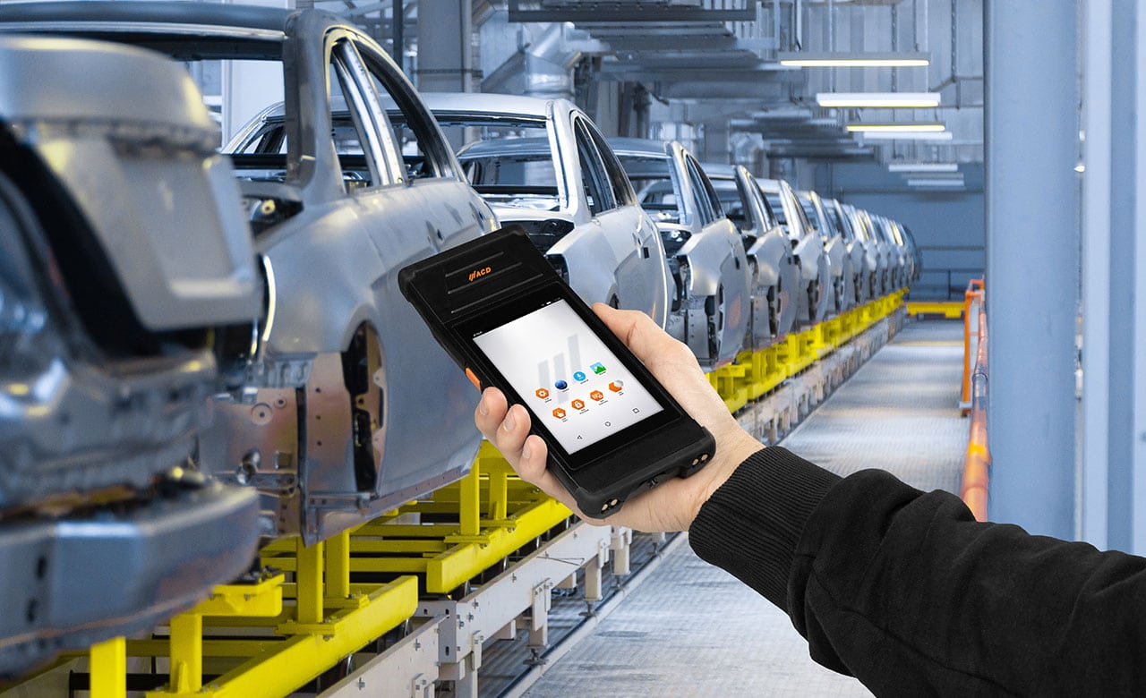 M2Smart Industrie mit RFID