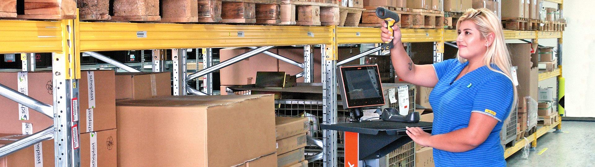 mobiler Arbeitsplatz MAX bei Edeka im Einsatz