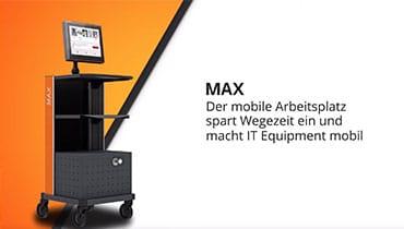 Mobiler Arbeitsplatz MAX DE