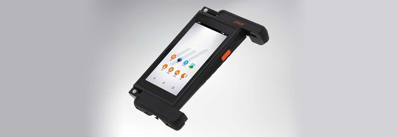 moderne Technologie – mobile Instustrie Computer