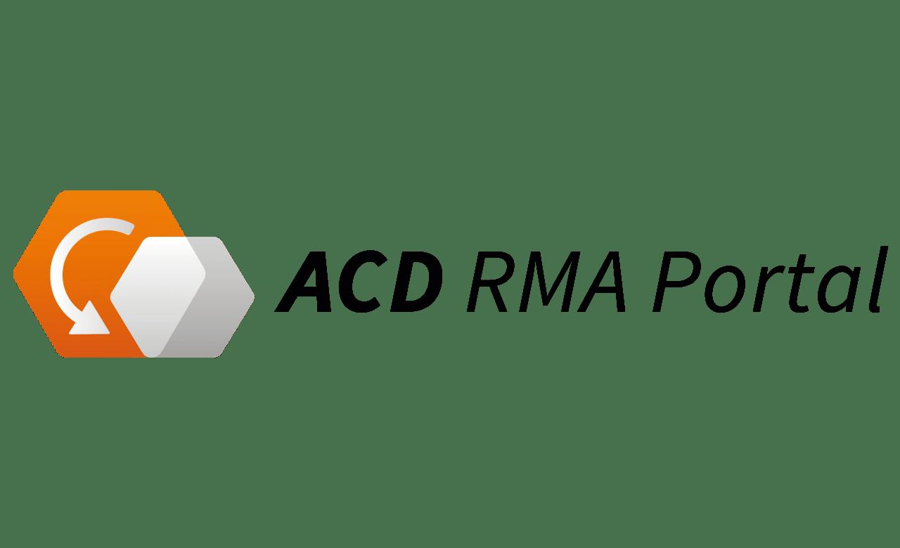 ACD RMA Portal