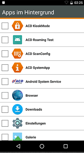 kioskmode mobile geraete service software 1