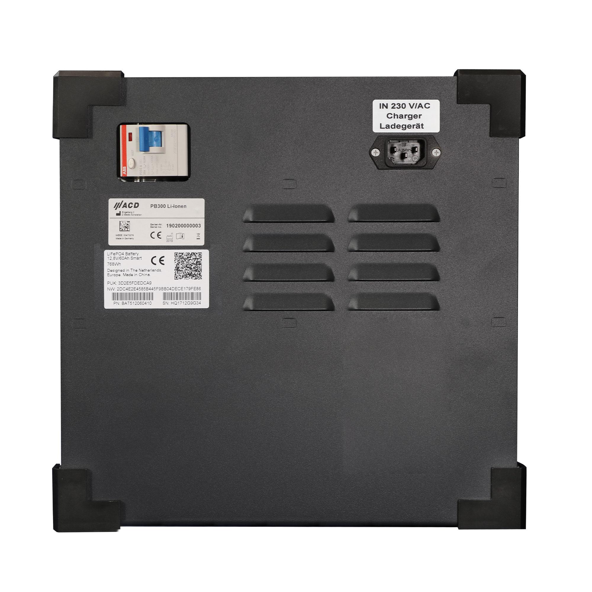 PowerBox PB300 Li-Ionen