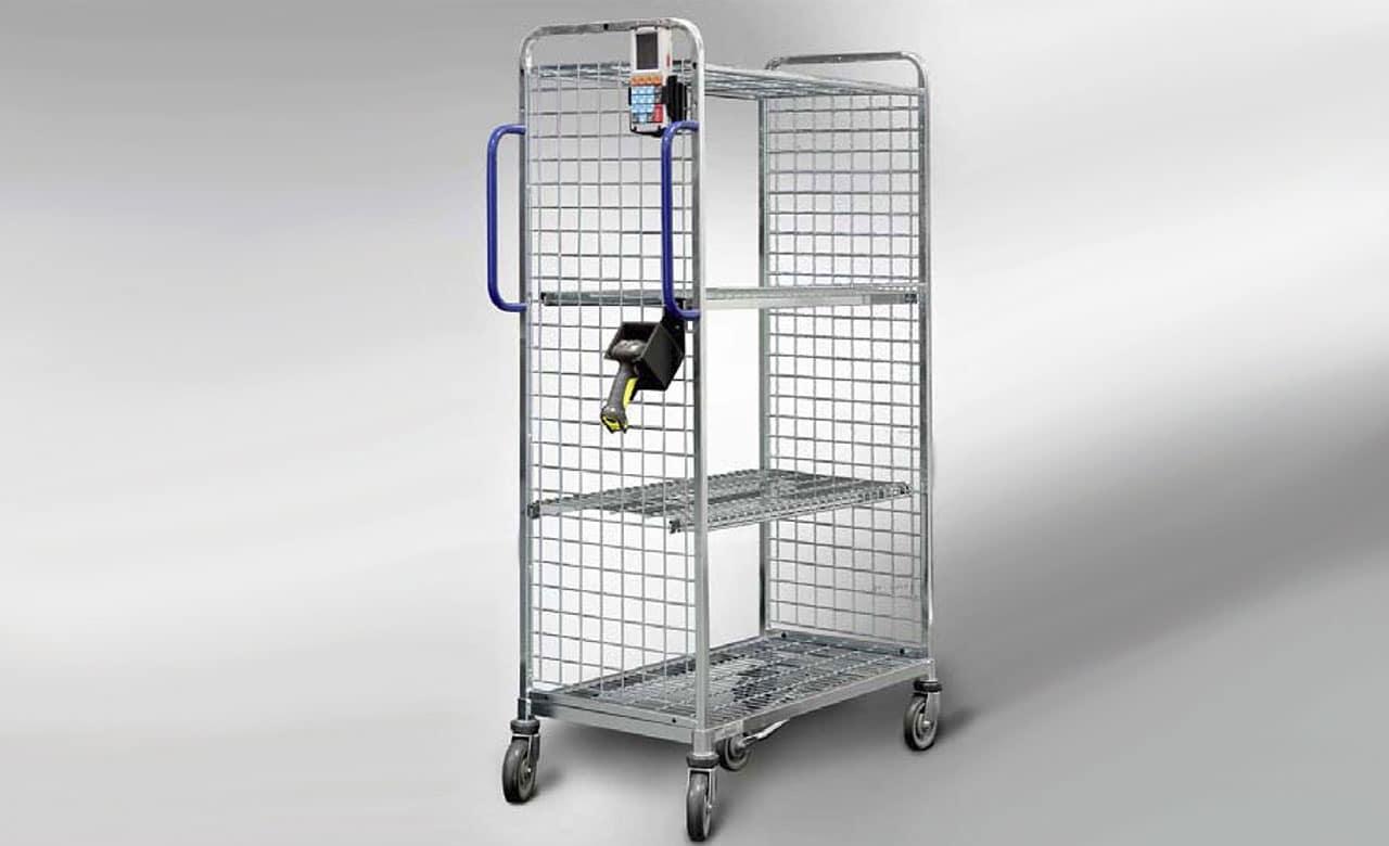 Beleglose Kommissionierkösung Terminal und Scanner