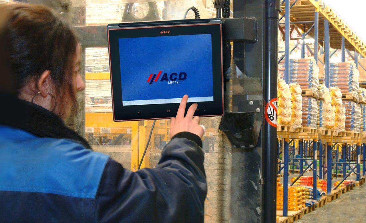 Arbeiten mit Fahrzeugterminals im TK-Bereich
