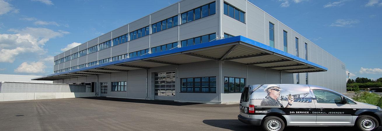 Goldhofer building exterior view company