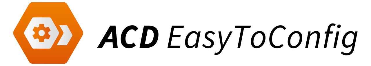 logo acd easytoconfig