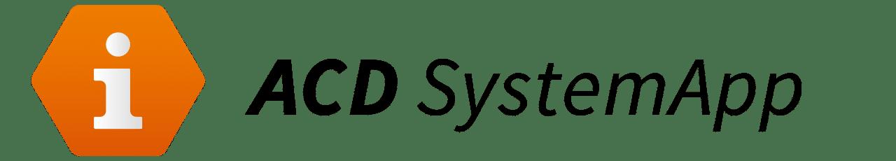 logo acd systemapp