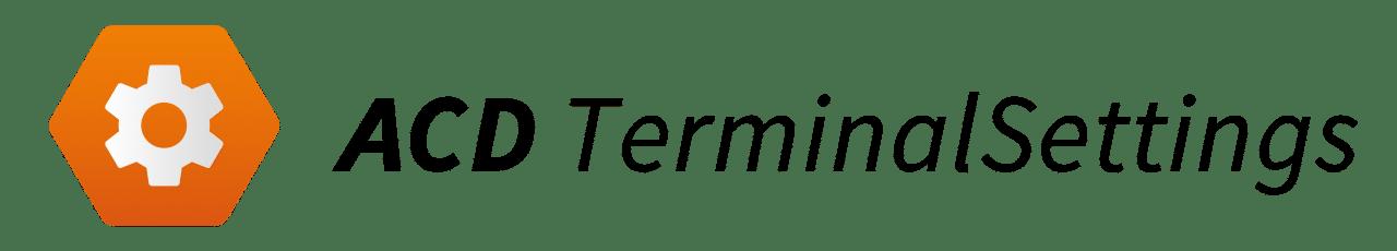 ACD Terminalsettings