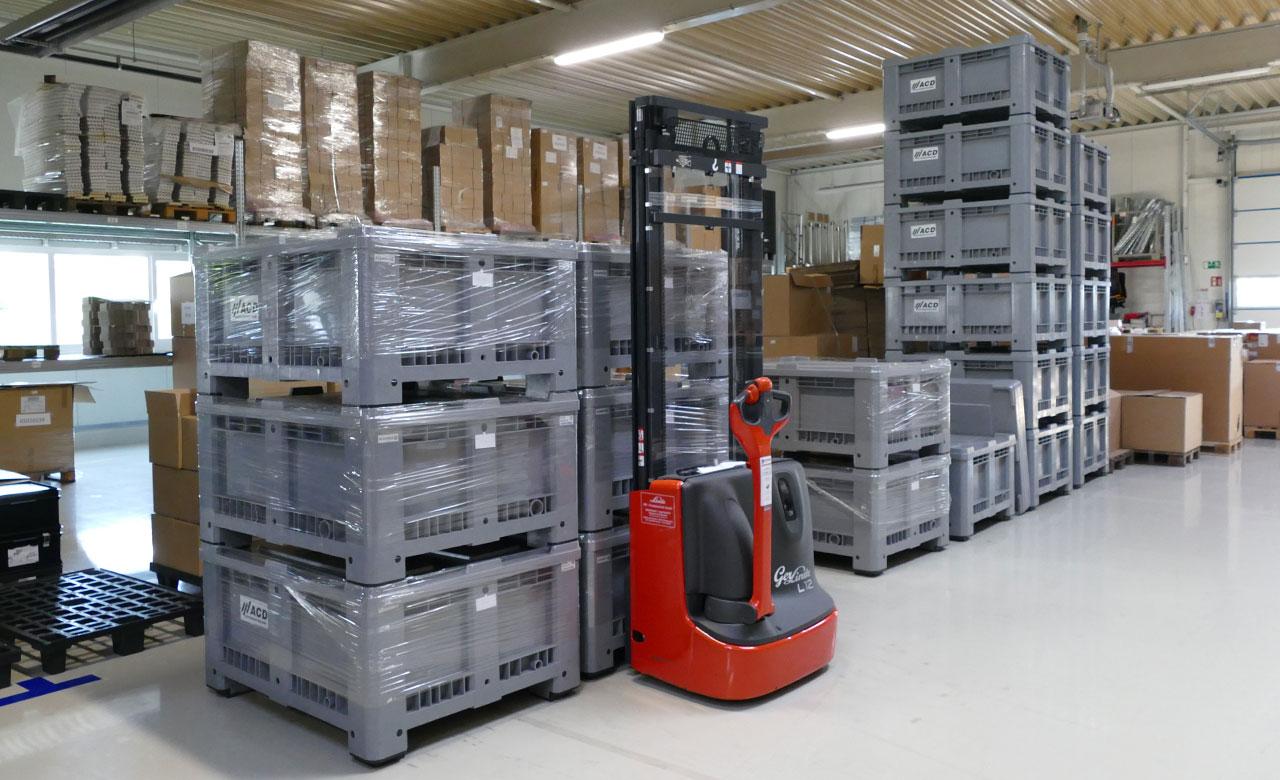 systemtechnik logistik hauseigener lieferdienst mehrweg statt einweg