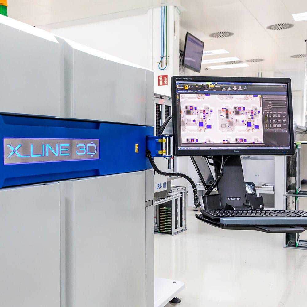 Röntgenprüfung 2D/3D