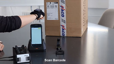 HasciSE ergonomic backhand scanner with industrial quality