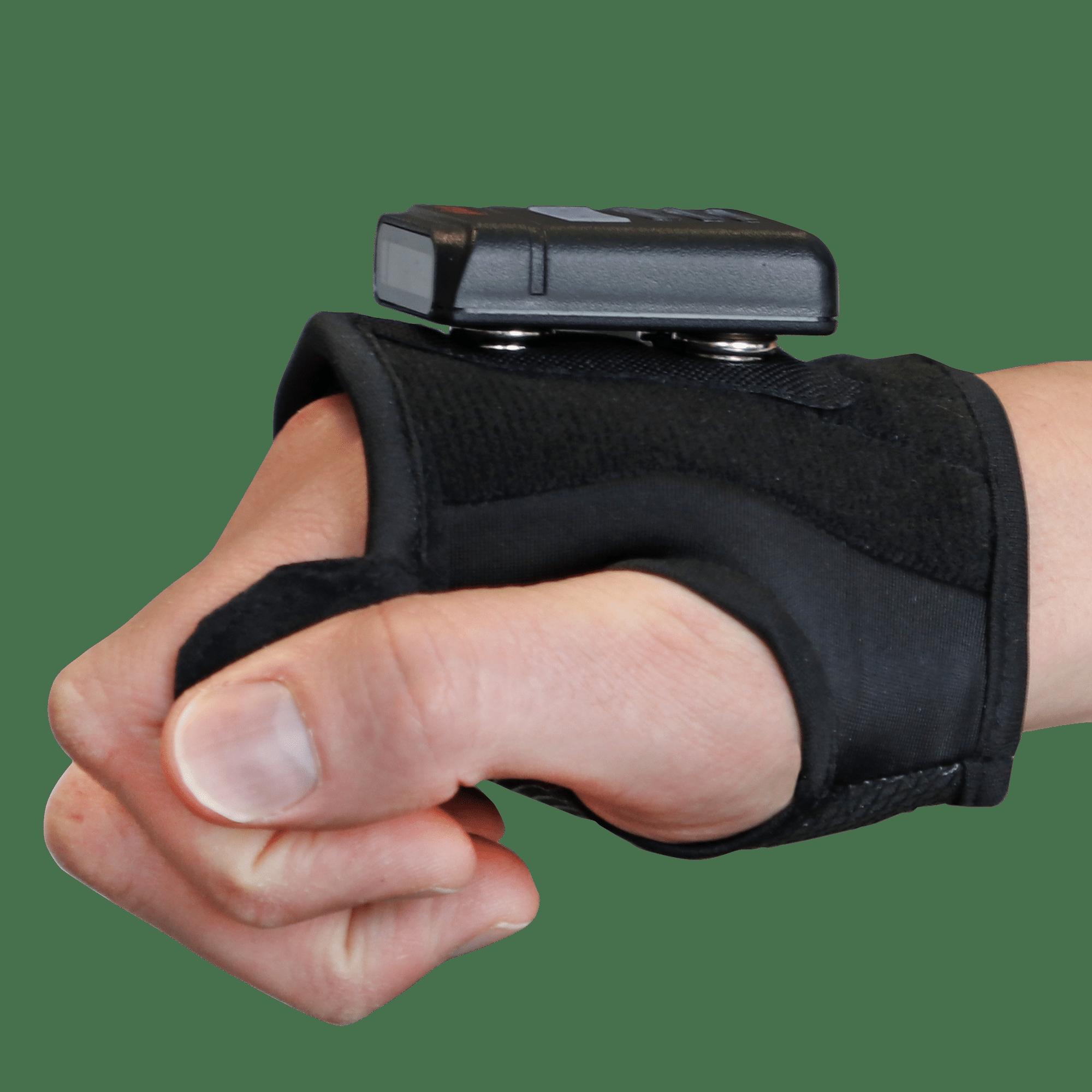 lecteur code-barre mains libre avec mitaine