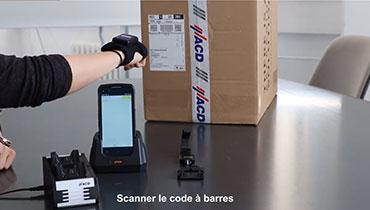 HasciSE Lecteur code barres main libre ergonomique et qualité industrielle