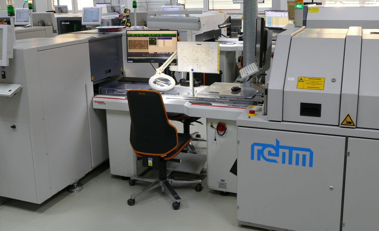 Inline SMD process control