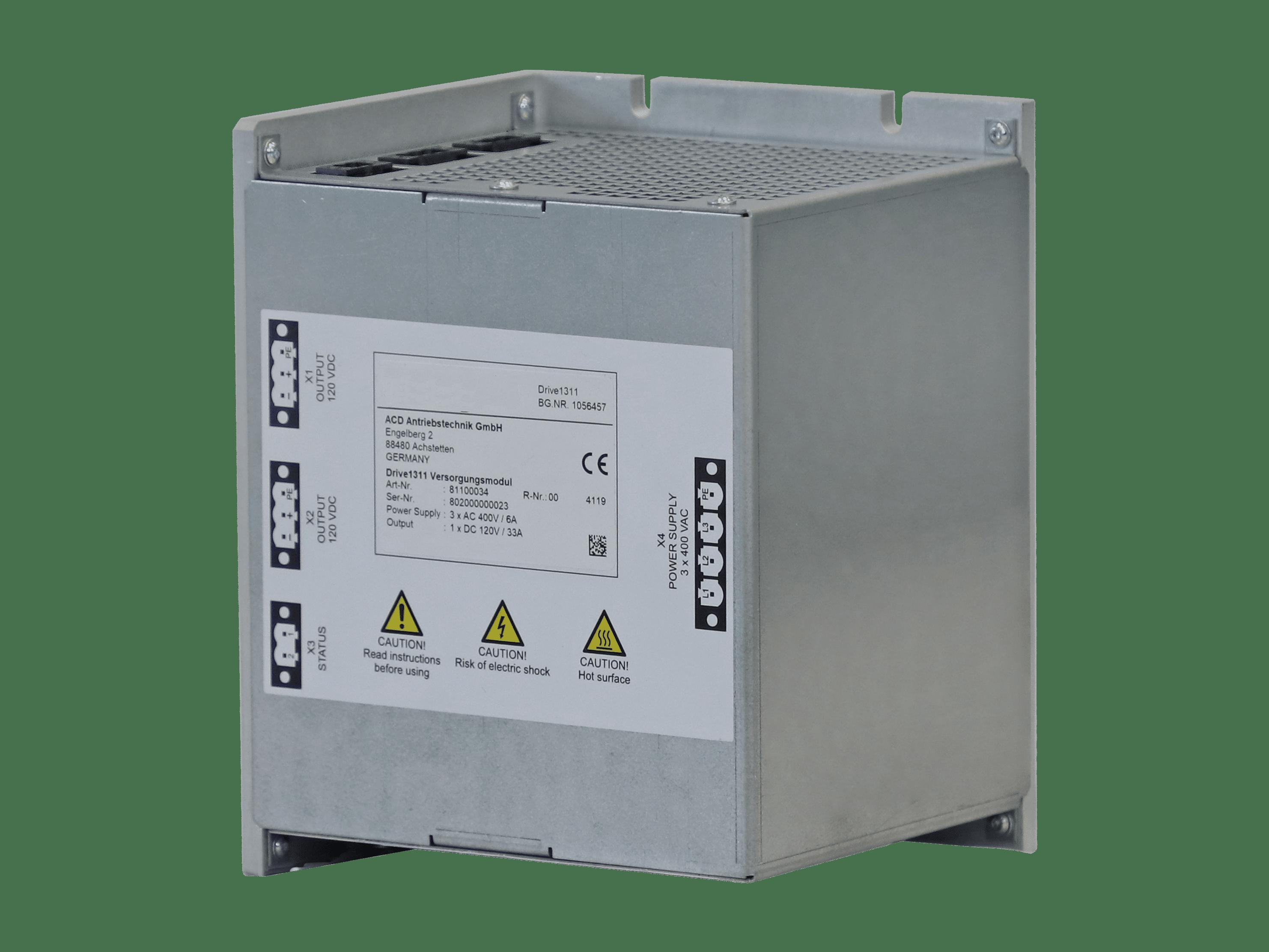 Power supply 120 V DC