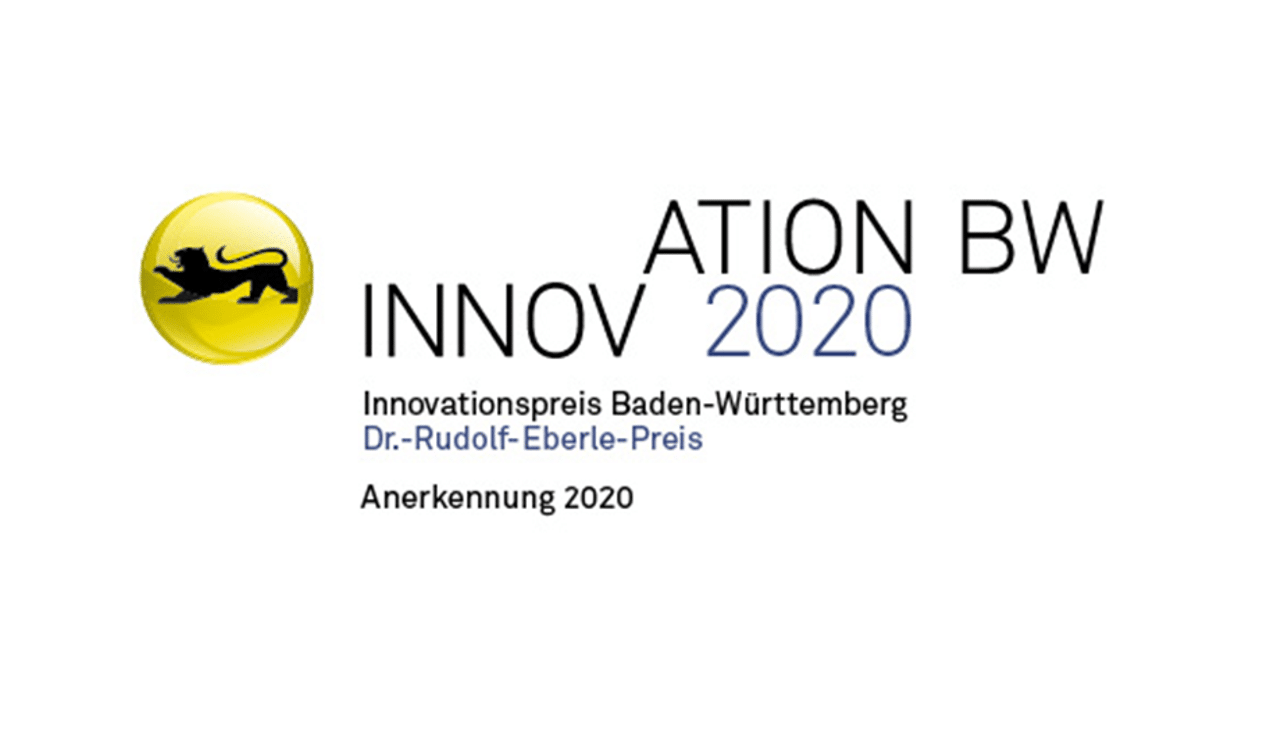 Anerkennung Innovationspreis BW