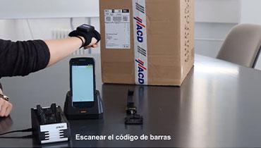 HasciSE Escáner manos libres ergonómico de calidad industrial