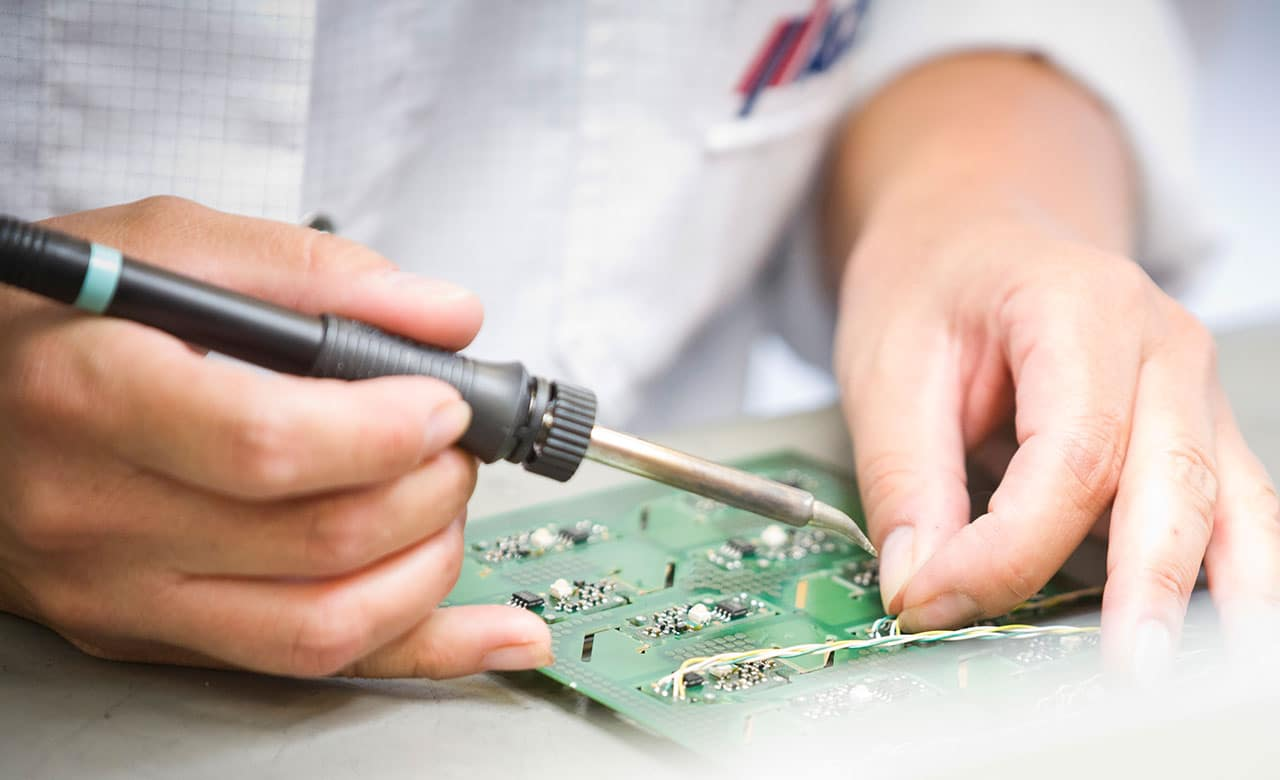 Servicios de apoyo y servicio de la computadora de mano