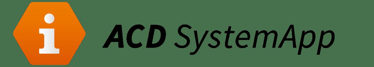 ACD Systemapp