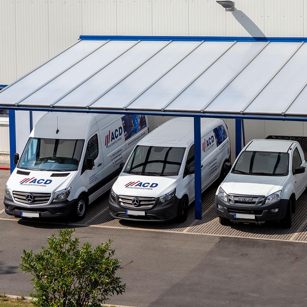 Systémová logistika technologie in house doručovací služba kyvadlová doprava