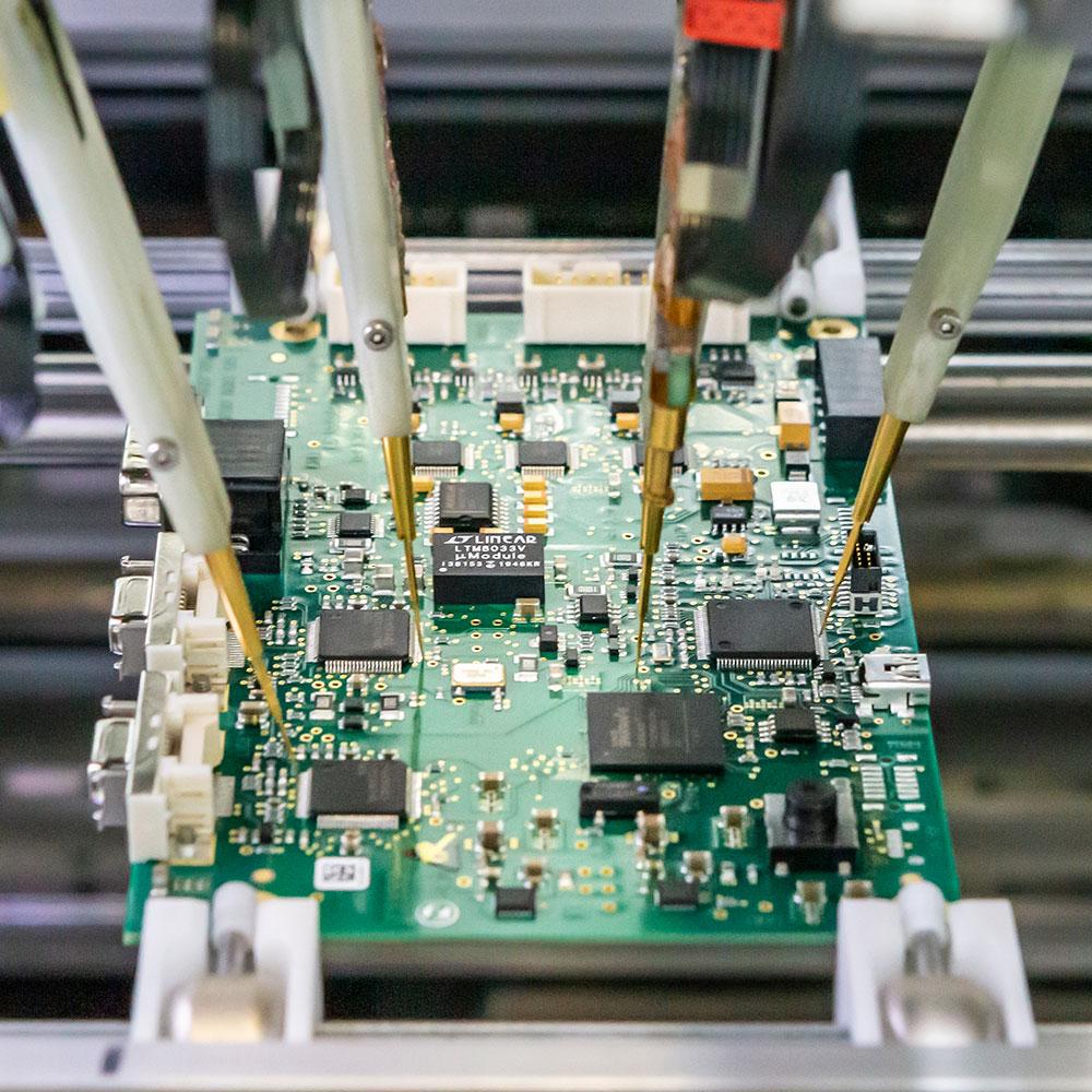 Systémová technologie kvalita elektrická testovací metoda elektricky testována