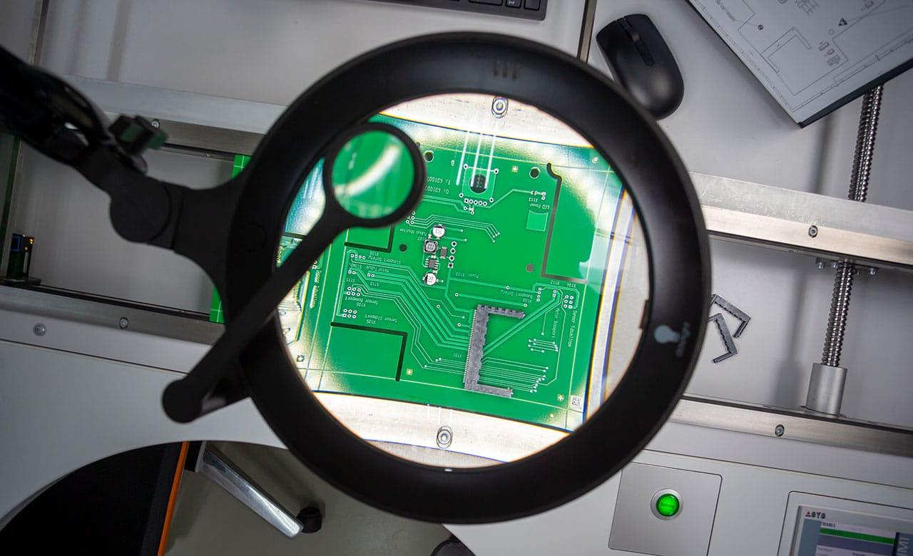 manuální kontrola