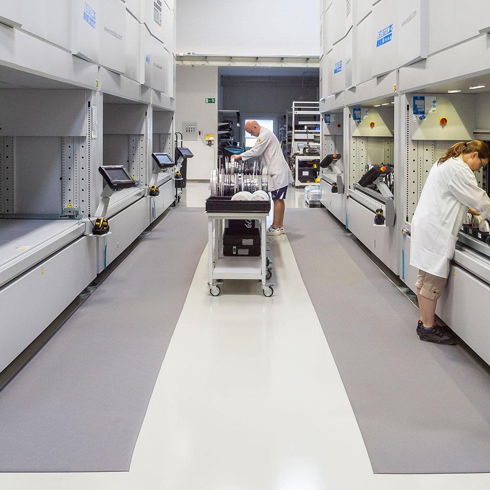 Systémová technologie logistika od výroby k testovacímu poli