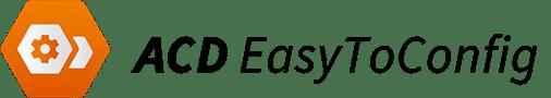 ACD EasyToConfig