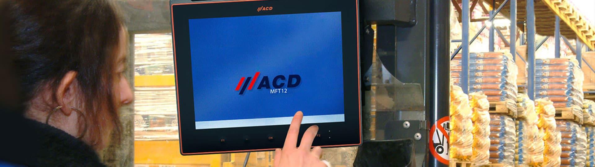 Utilisation des unités ACD dans la zone de congélation