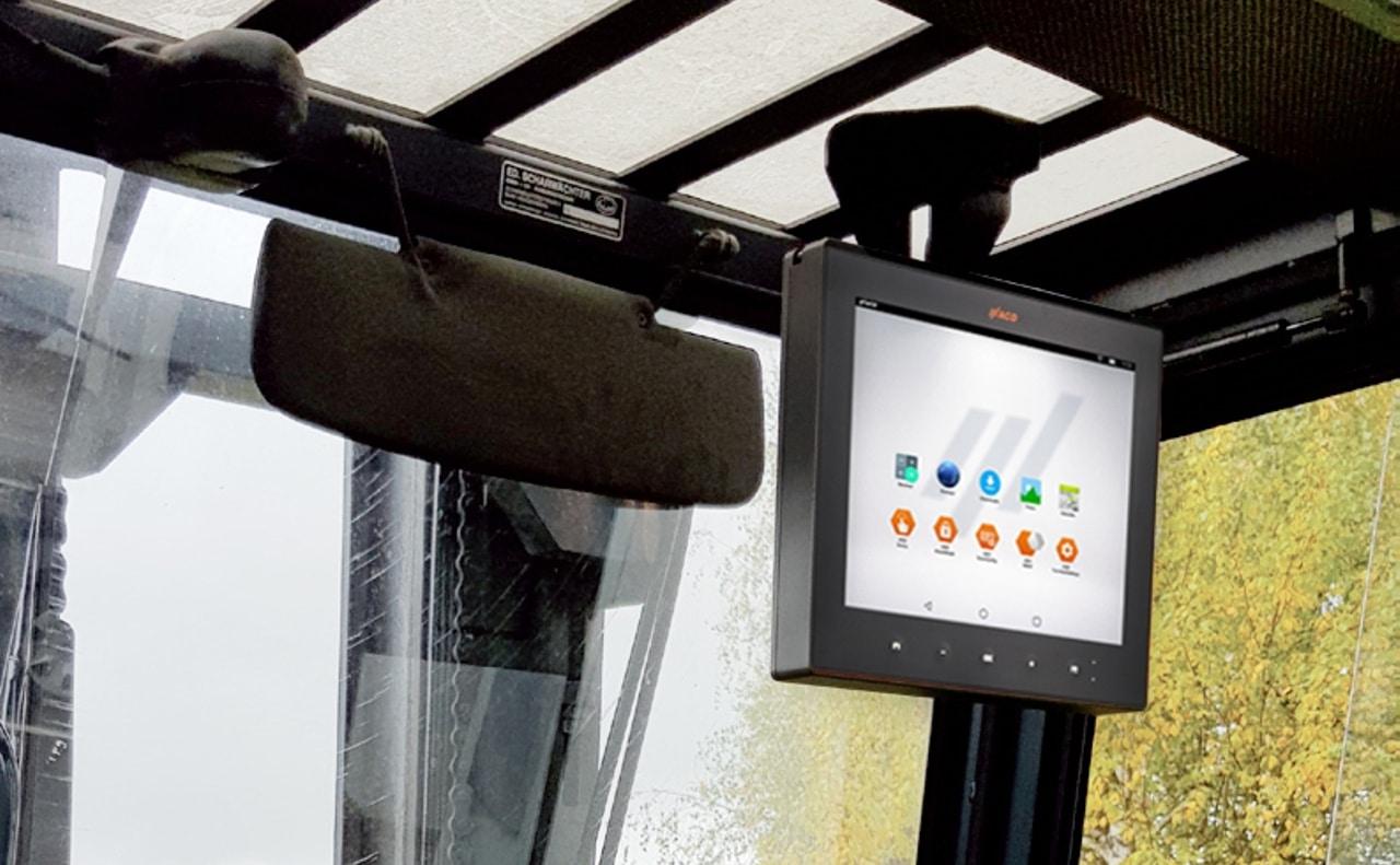 Terminal vehículo MFT1x con Android